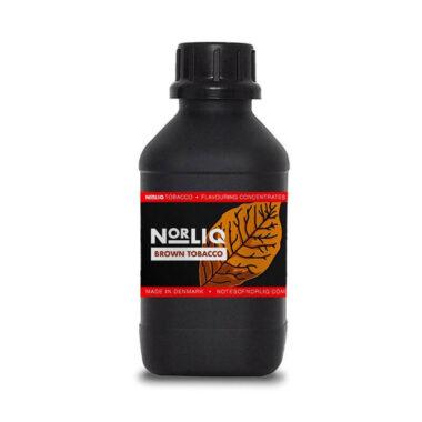 norliq 1l brown tobacco 1 | E-sigarett, E-juice og Aroma nettbutikk | ECigge.no